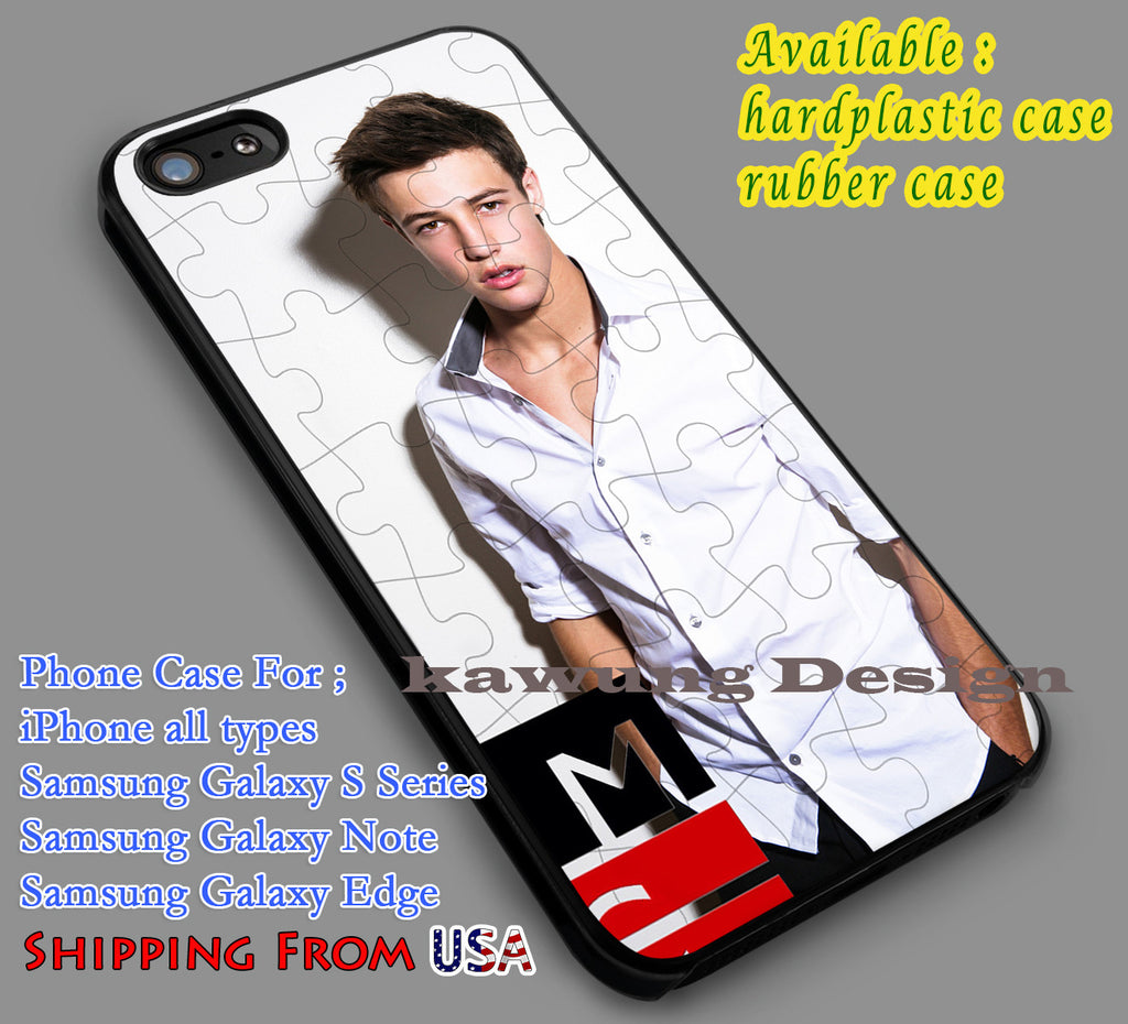 Coolest Cameron Dallas iPhone 6s 6 6s+ 5c 5s Cases Samsung Galaxy s5 s6 Edge+ NOTE 5 4 3 #movie #MagconBoys dl6 - Kawung Design  - 2