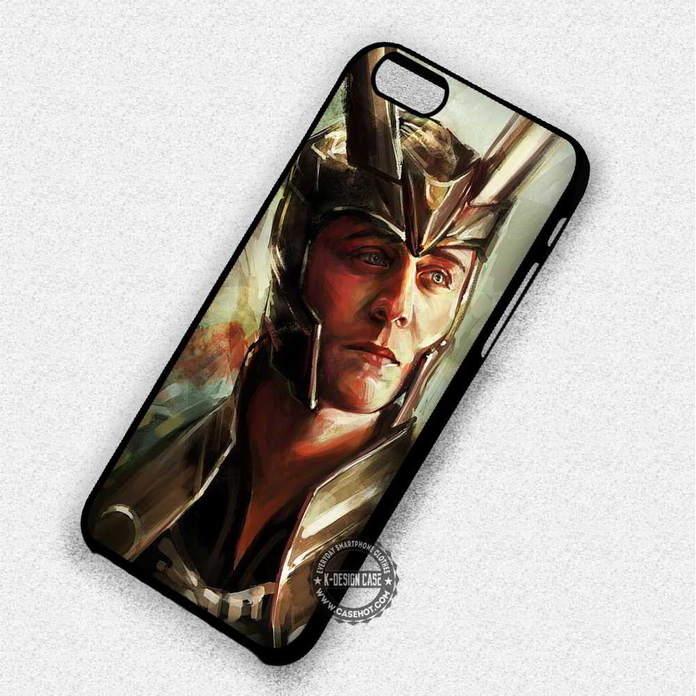 Coolest Villain Ever Loki The Avengers - iPhone 7 6 Plus 5c 5s SE Cases & Covers - Kawung Design  - 1