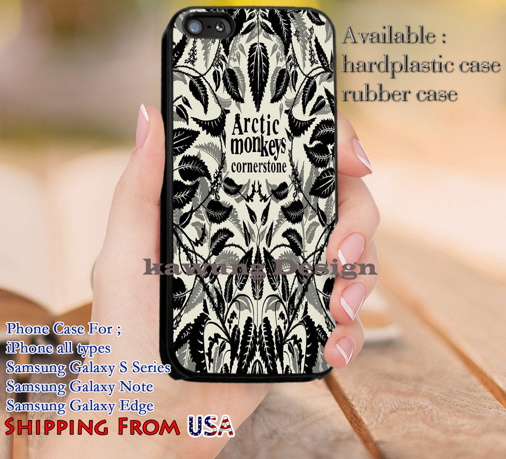 Cornerstone Arctic Monkeys Album iPhone 6s 6 6s+ 5c 5s Cases Samsung Galaxy s5 s6 Edge+ NOTE 5 4 3 #music #arc dl10 - Kawung Design  - 1