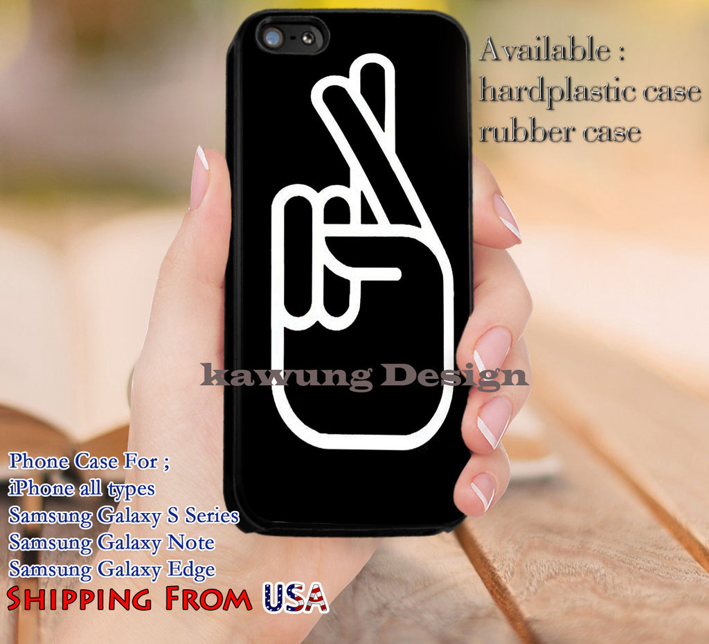 Cross Finger Tattoo iPhone 6s 6 6s+ 5c 5s Cases Samsung Galaxy s5 s6 Edge+ NOTE 5 4 3 #music #1d dl12 - Kawung Design  - 1
