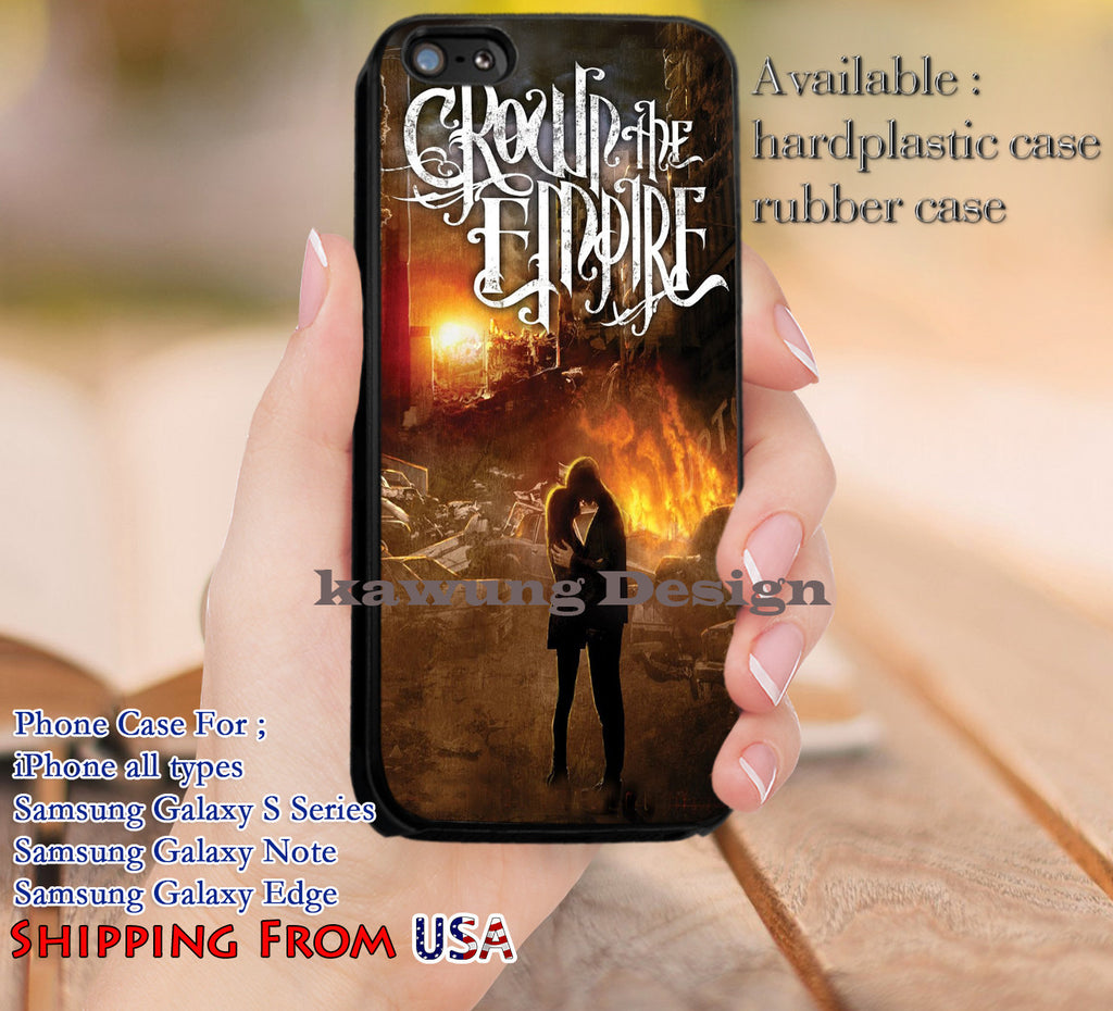 Crown The Empire Album Cover iPhone 6s 6 6s+ 5c 5s Cases Samsung Galaxy s5 s6 Edge+ NOTE 5 4 3 #music #cte dl10 - Kawung Design  - 1