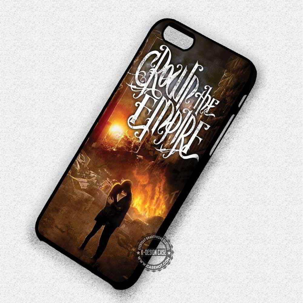 Crown The Empire Album - iPhone 7 6 Plus 5c 5s SE Cases & Covers - Kawung Design  - 1