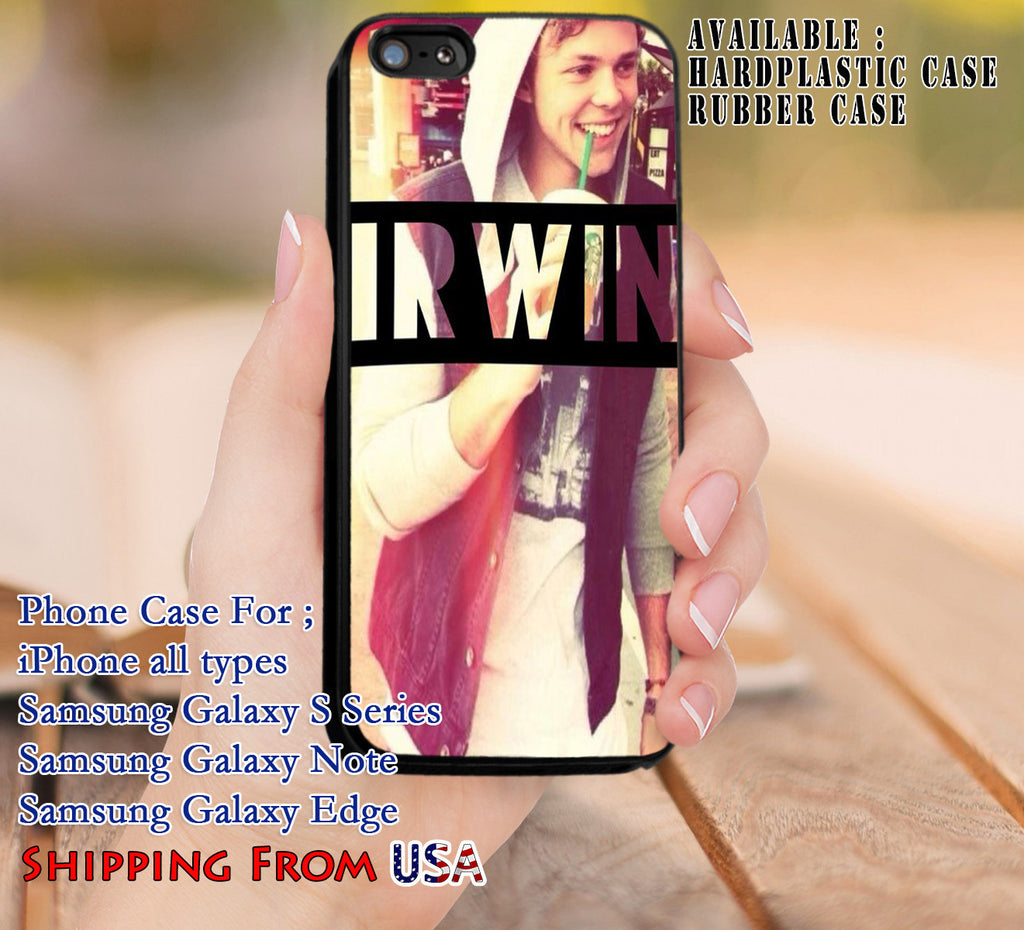 Cute Boy Ashton Irwin iPhone 6s 6 6s+ 5c 5s Cases Samsung Galaxy s5 s6 Edge+ NOTE 5 4 3 #music #1d dl8 - Kawung Design  - 1