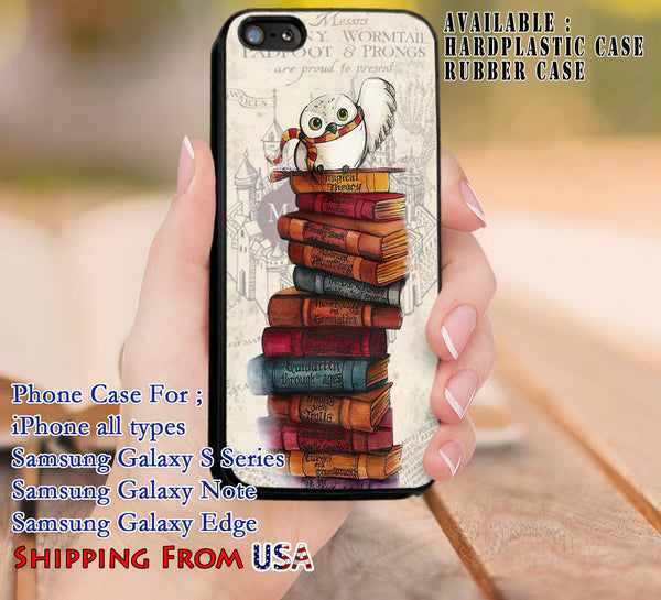 Hedwig Harry Potter iPhone 6s 6 6s+ 5c 5s Cases Samsung Galaxy s5 s6 Edge+ NOTE 5 4 3 #movie #HarryPotter dl8 - Kawung Design  - 1