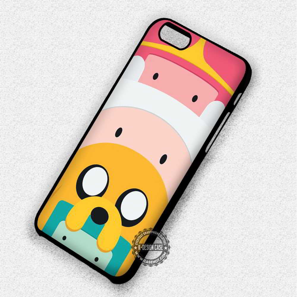 Cute Totem Pole Adventure Time - iPhone 7 6 Plus 5c 5s SE Cases & Covers - Kawung Design  - 1