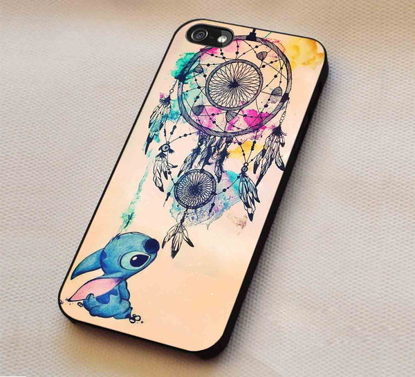 Cutie and Dream catcher iPhone 6s 6 6s+ 5c 5s Cases Samsung Galaxy s5 s6 Edge+ NOTE 5 4 3 #cartoon #animated #disney #Lilo&Stitch lk - Kawung Design  - 1