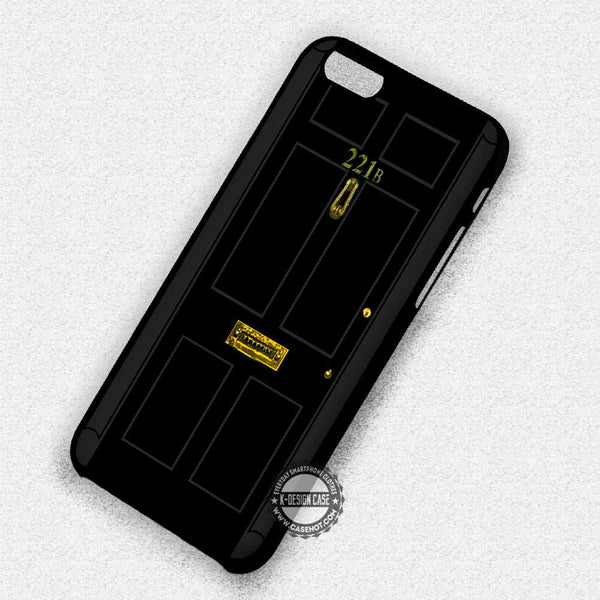 221B Sherlock Holmes - iPhone 7 6 5 SE Cases & Covers - Kawung Design  - 1