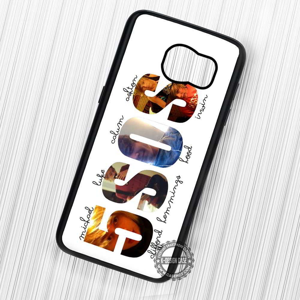5 Seconds Of Summer - Samsung Galaxy S7 S6 S5 Note 5 Cases & Covers - Kawung Design  - 1