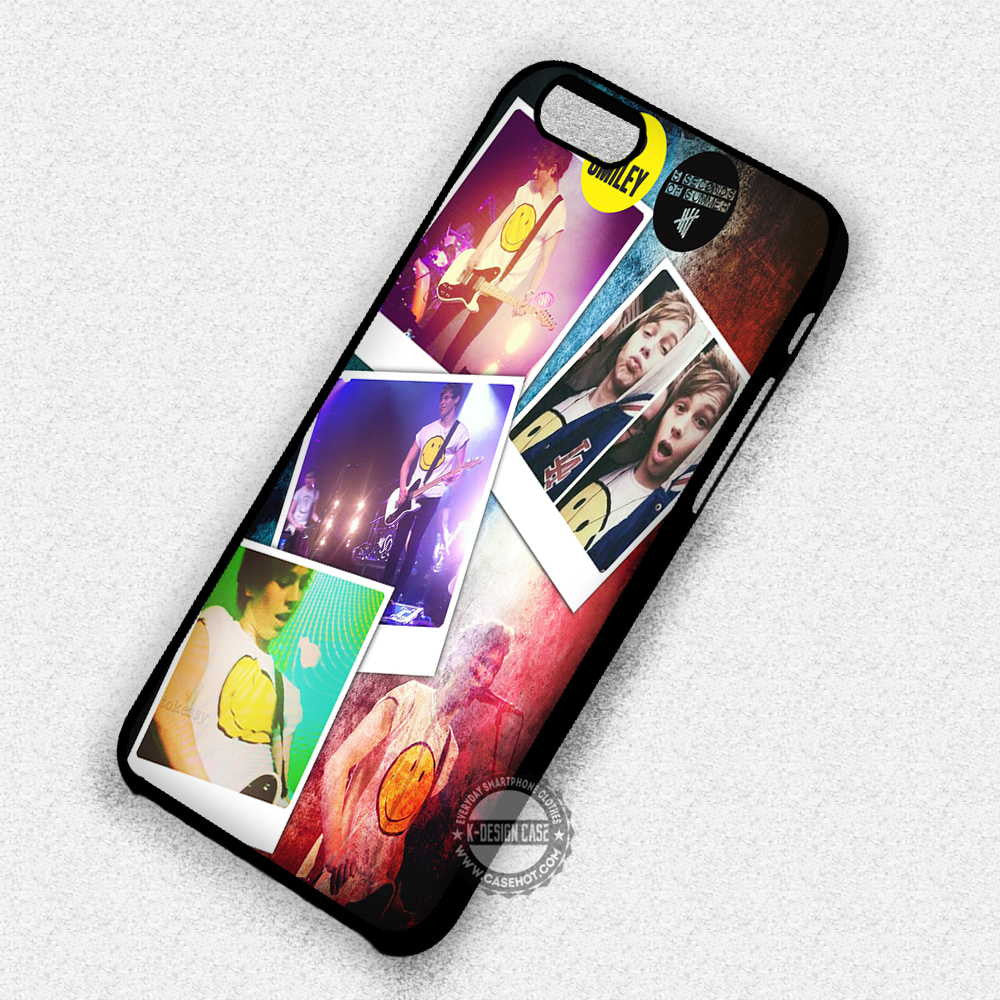 5 Seconds Of Summer Luke Hemmings - iPhone 7 6 5 SE Cases & Covers - Kawung Design  - 1