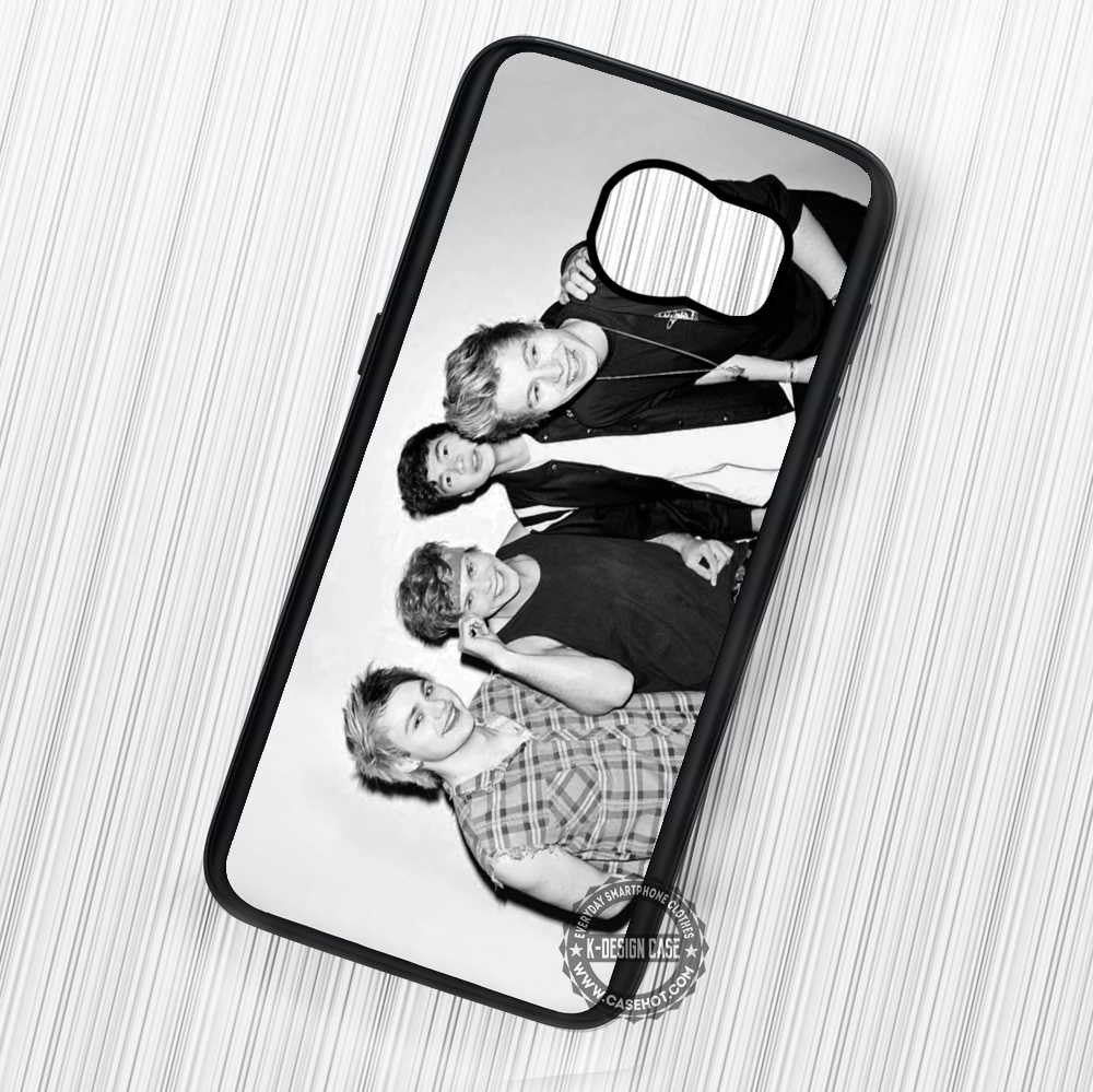 5 Seconds of Summer - Samsung Galaxy S6 S5 S4 Note 7 Cases & Covers - Kawung Design  - 1