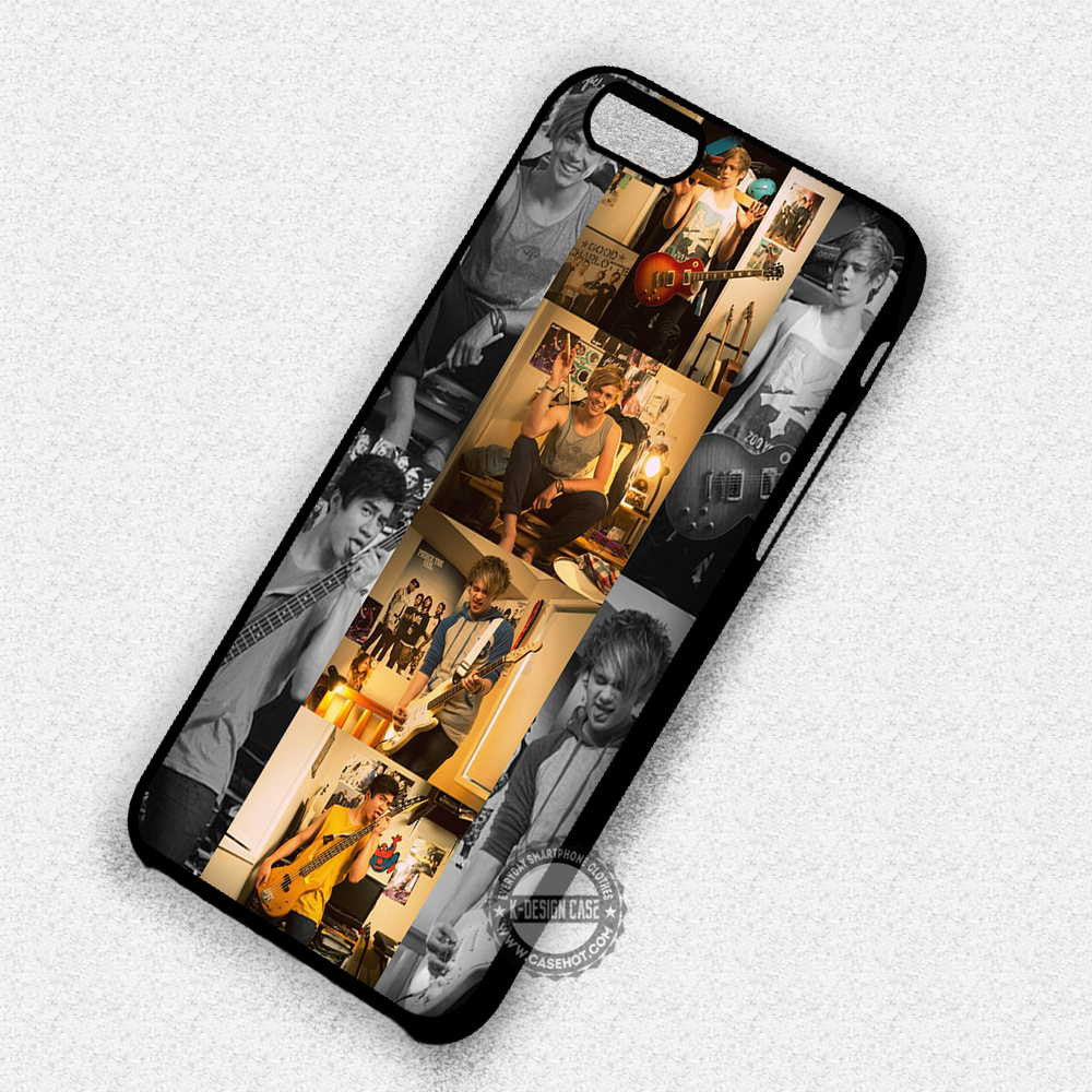 5 Seconds of Summer Hemmings Clifford Hood Irwin - iPhone 7 Plus 6S SE Cases & Covers - Kawung Design  - 1