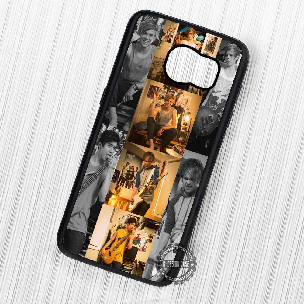 5 Seconds of Summer - Samsung Galaxy S7 S6 S5 Note 3 Cases & Covers - Kawung Design  - 1