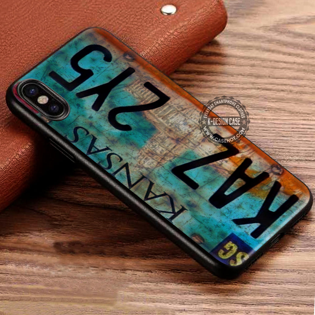 Supernatural License Plate iPhone X Case