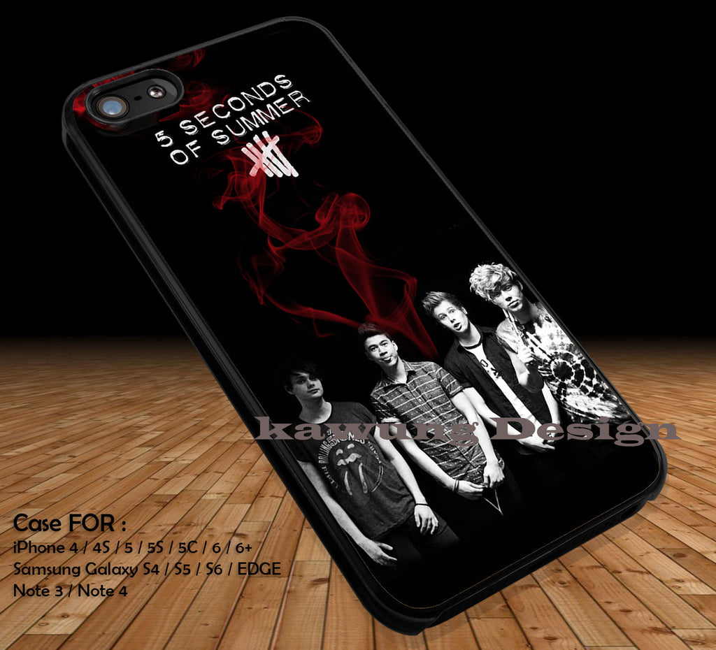 5 Seconds of Summer Music DOP1158 iPhone 6s 6 6s+ 5c 5s Cases Samsung Galaxy s5 s6 Edge+ NOTE 5 4 3 #music #5sos - K-Designs