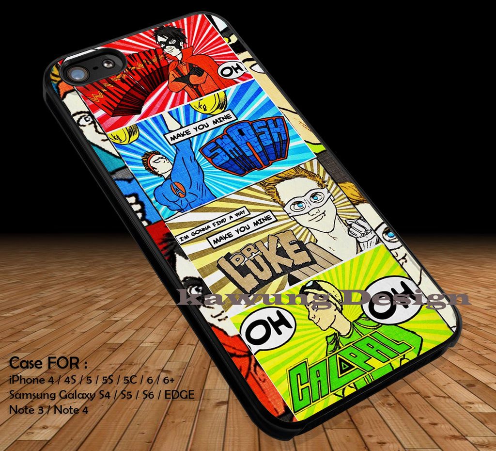 5 Seconds of Summer DOP1159 case/cover for iPhone 4/4s/5/5c/6/6+/6s/6s+ Samsung Galaxy S4/S5/S6/Edge/Edge+ NOTE 3/4/5 #music #5sos #cartoon - K-Designs