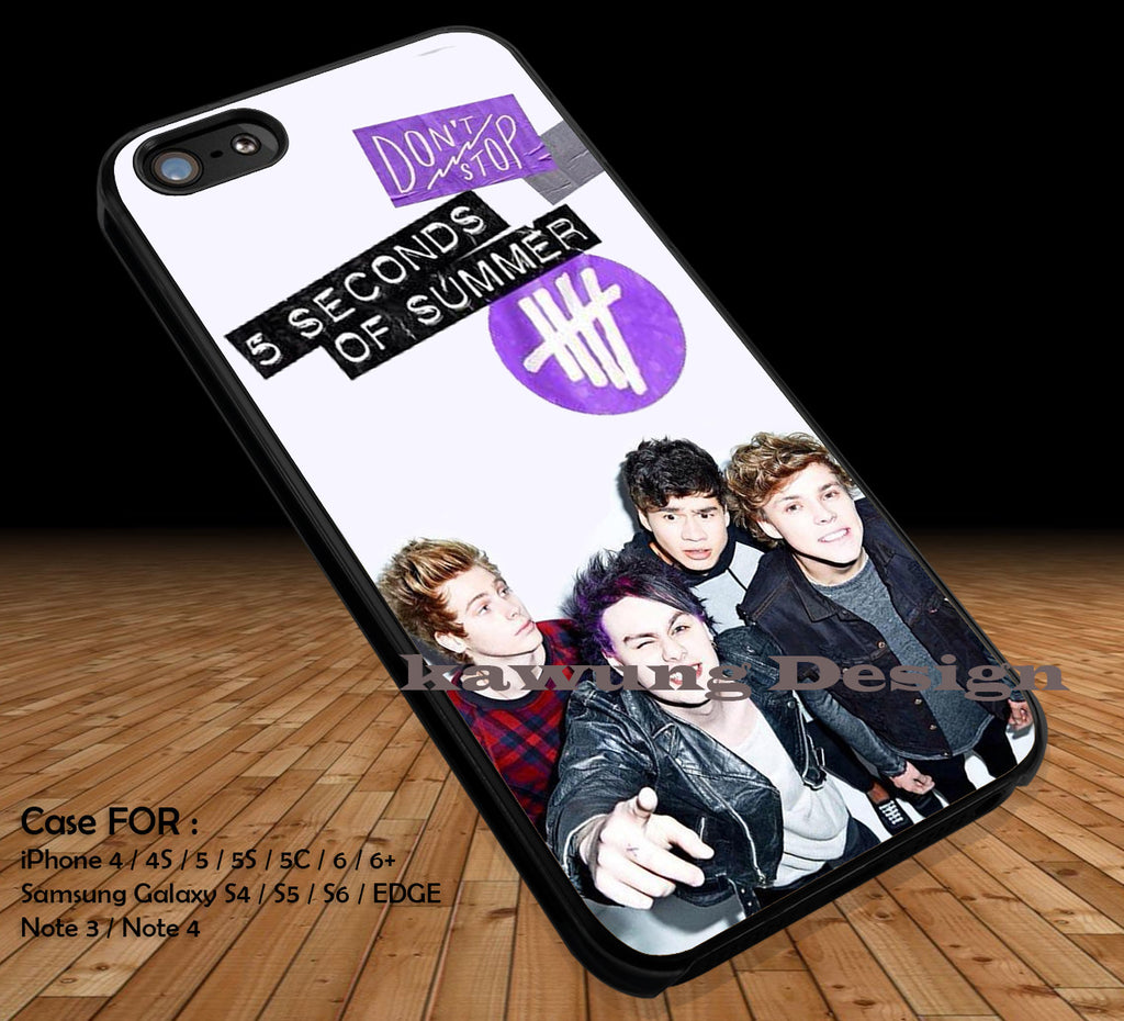 5 Seconds of Summer Poster Cover DOP1167 iPhone 6s 6 6s+ 5c 5s Cases Samsung Galaxy s5 s6 Edge+ NOTE 5 4 3 #music #5sos - K-Designs