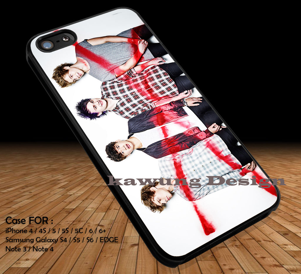 5 Seconds of Summer  Band DOP1168 iPhone 6s 6 6s+ 5c 5s Cases Samsung Galaxy s5 s6 Edge+ NOTE 5 4 3 #music #5sos - K-Designs