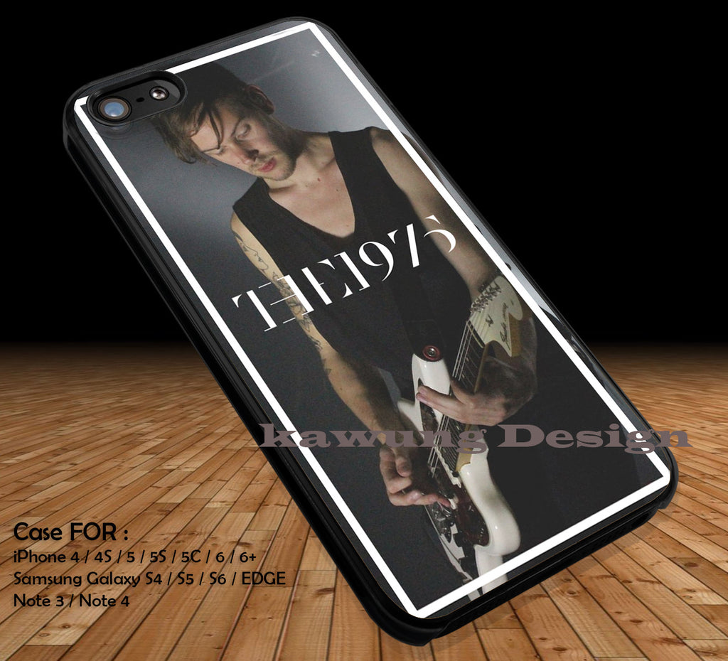 Adam Hann The 1975 DOP1169 iPhone 6s 6 6s+ 5c 5s Cases Samsung Galaxy s5 s6 Edge+ NOTE 5 4 3 #music #1975 - Kawung Design  - 1