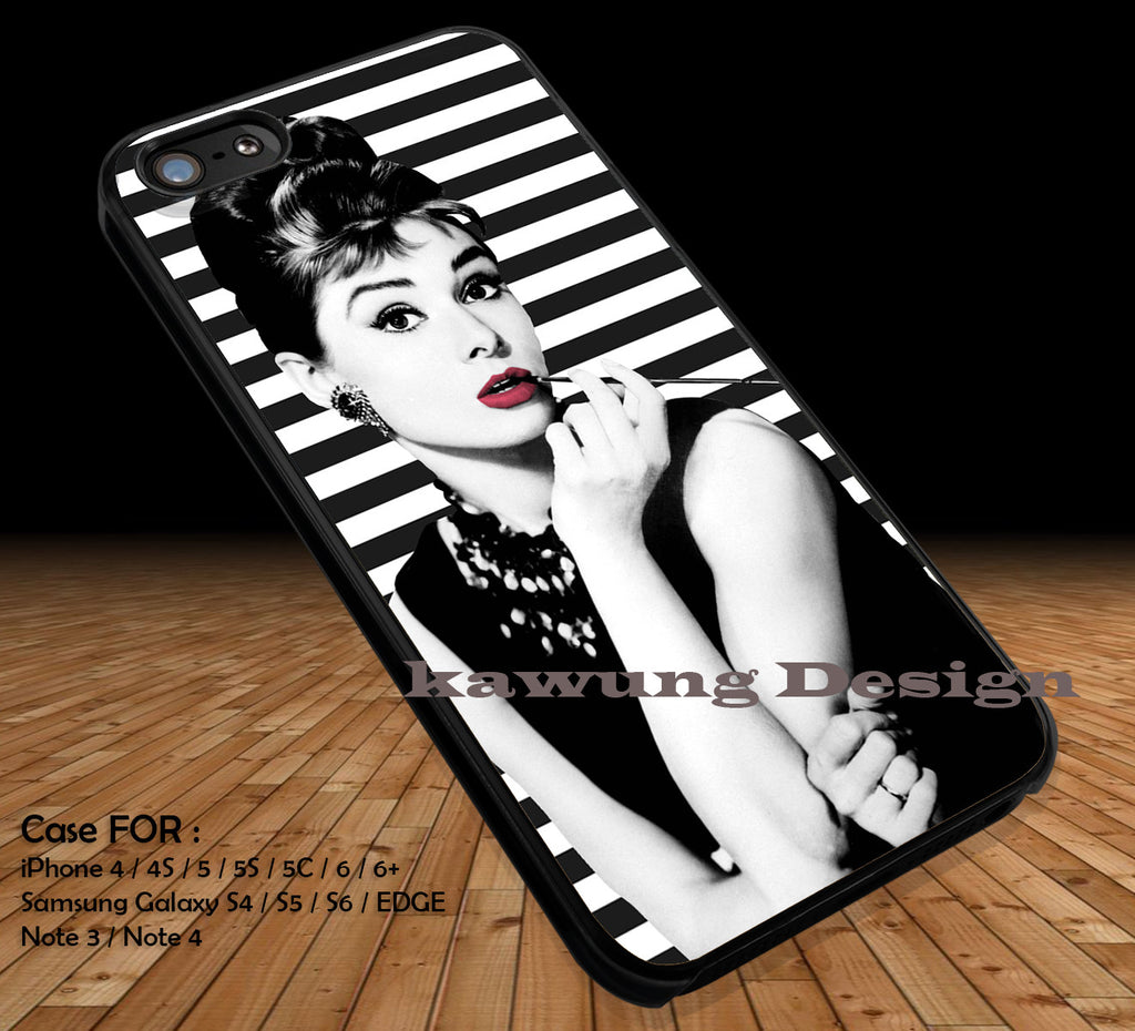Audrey Hepburn Breakfast At Tiffany's iPhone 8+ 7 6s Cases Samsung Galaxy S8 S7 edge NOTE 8 5 4