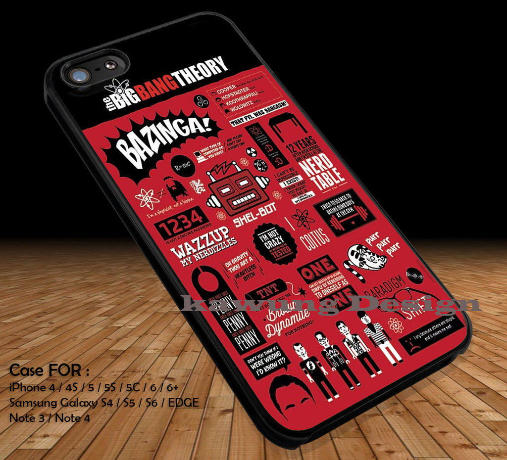 Big Bang Theory Collage DOP1220 iPhone 6s 6 6s+ 5c 5s Cases Samsung Galaxy s5 s6 Edge+ NOTE 5 4 3 #art - Kawung Design  - 1