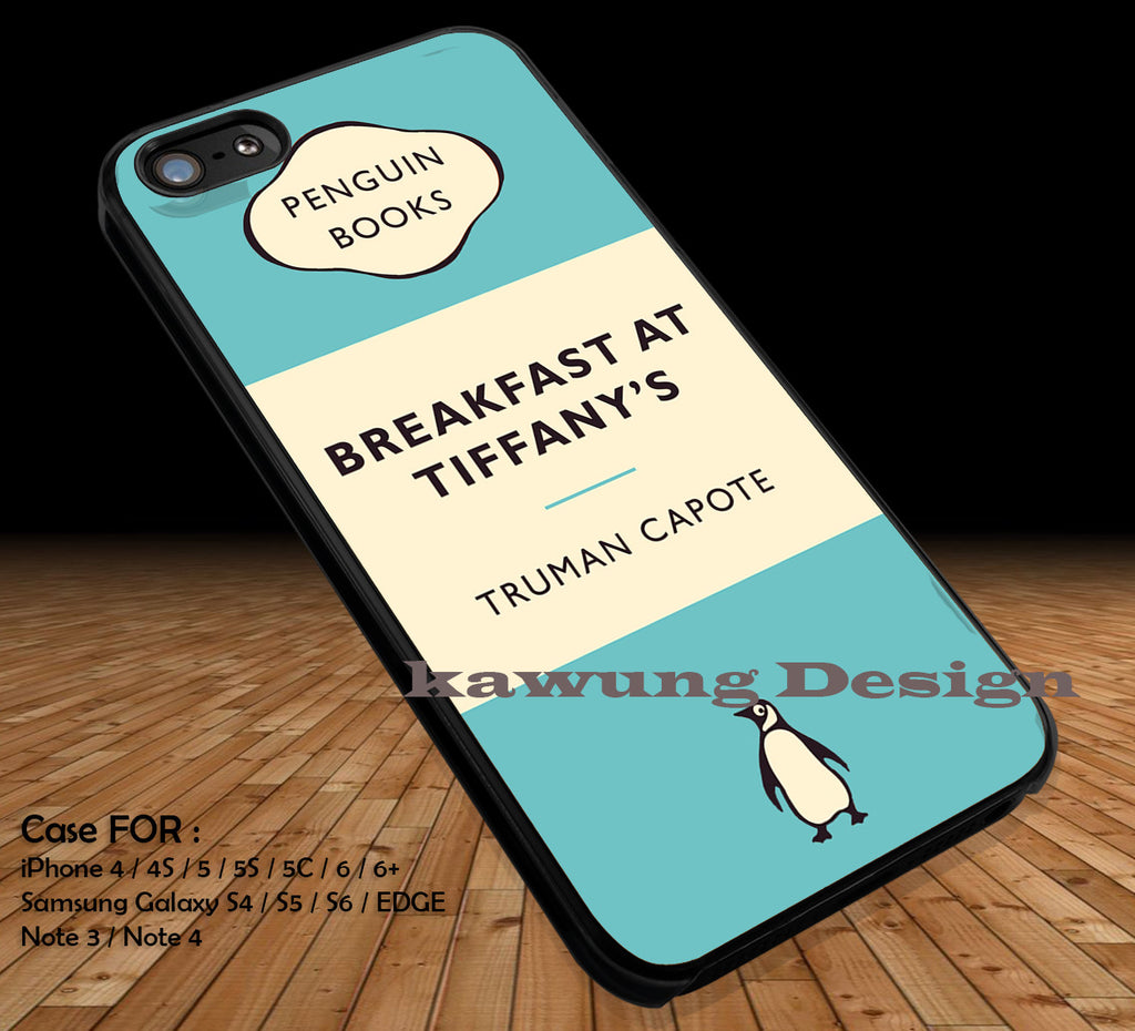 Breakfast at Tiffany's Penguin Classic DOP1221 iPhone 6s 6 6s+ 5c 5s Cases Samsung Galaxy s5 s6 Edge+ NOTE 5 4 3 #movie #actrees #adh - Kawung Design  - 1