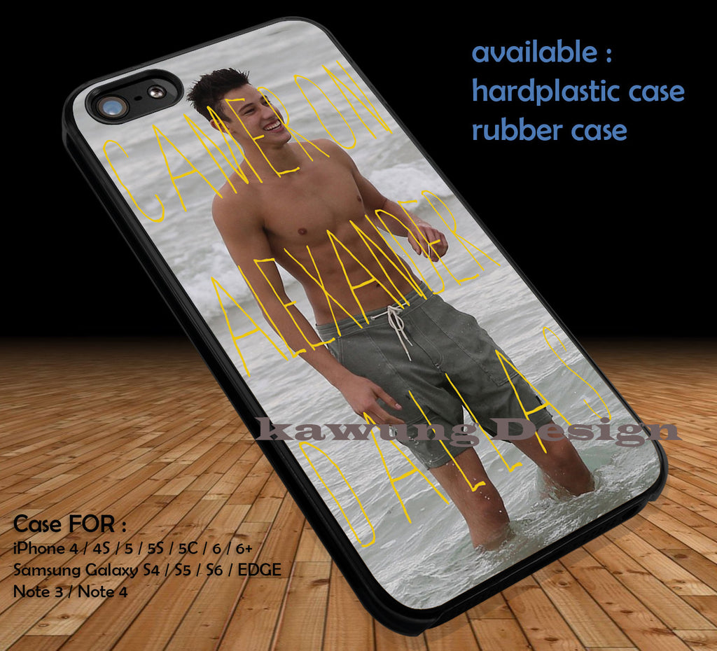 Cameron Dallas Funny DOP1223 iPhone 6s 6 6s+ 5c 5s Cases Samsung Galaxy s5 s6 Edge+ NOTE 5 4 3 #movie #MagconBoys - Kawung Design  - 1