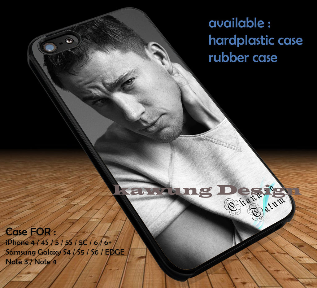 Channing Tatum Cell DOP1225 iPhone 6s 6 6s+ 5c 5s Cases Samsung Galaxy s5 s6 Edge+ NOTE 5 4 3 #movie #actor #cnt - Kawung Design  - 1