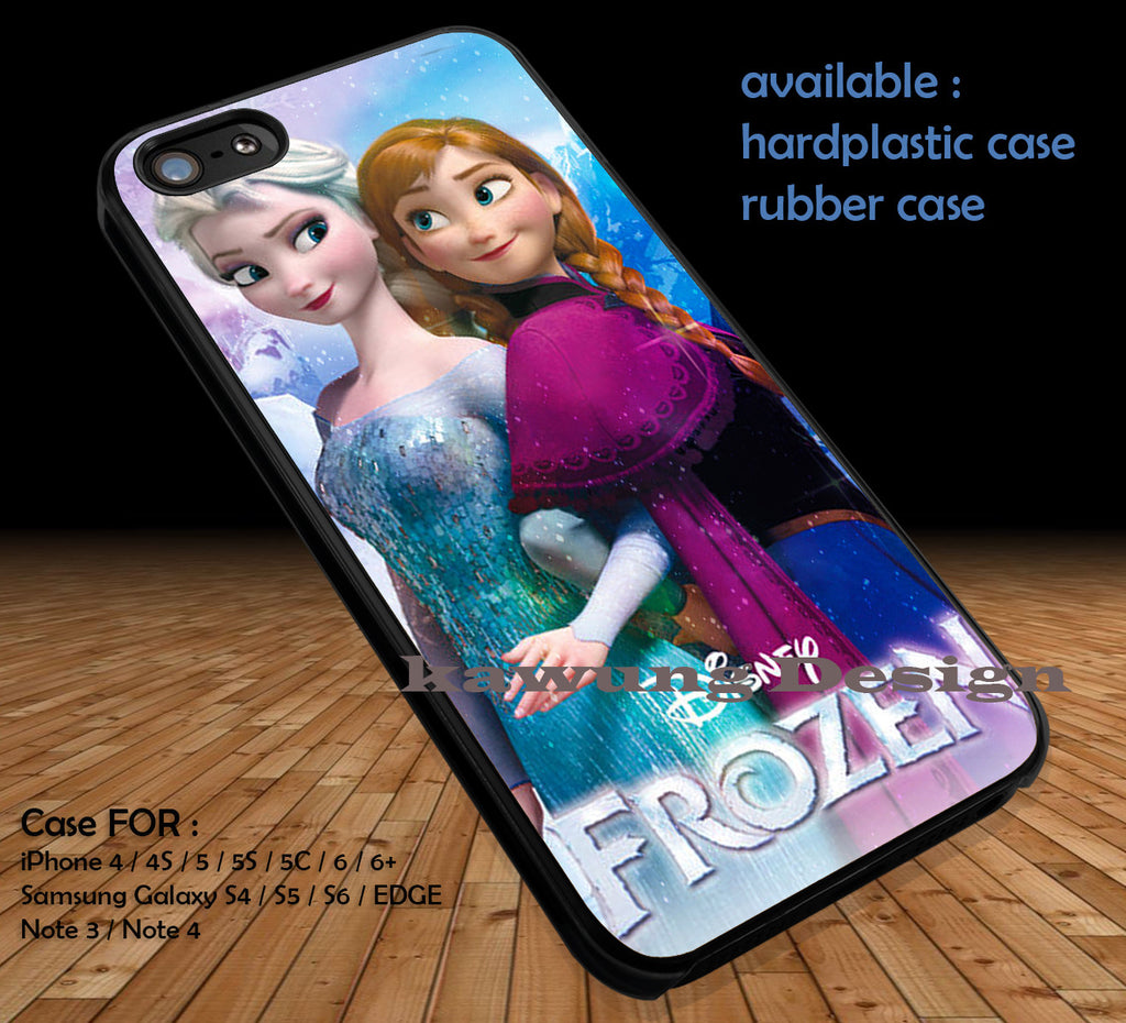 Frozen DOP125 case/cover for iPhone 4/4s/5/5c/6/6+/6s/6s+ Samsung Galaxy S4/S5/S6/Edge/Edge+ NOTE 3/4/5 #cartoon #disney #animated - Kawung Design  - 1