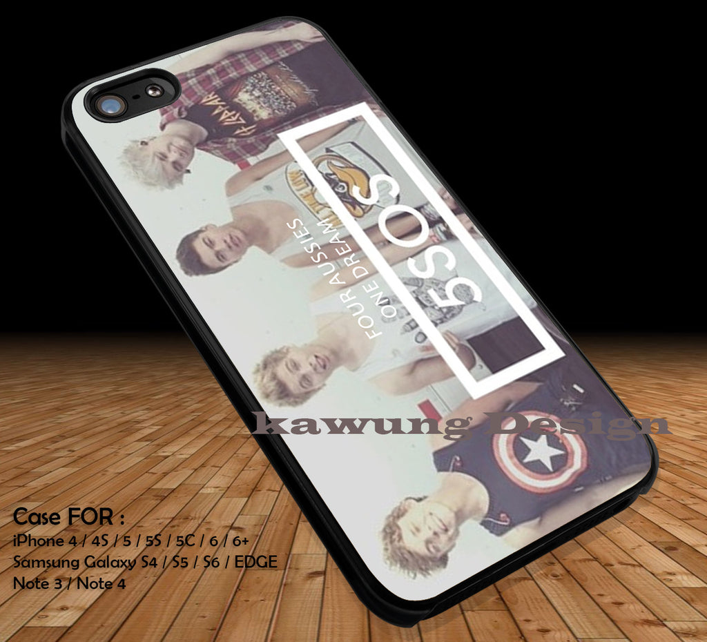 5 Seconds of Summer Quotes Logo DOP1278 iPhone 6s 6 6s+ 5c 5s Cases Samsung Galaxy s5 s6 Edge+ NOTE 5 4 3 #quote - K-Designs