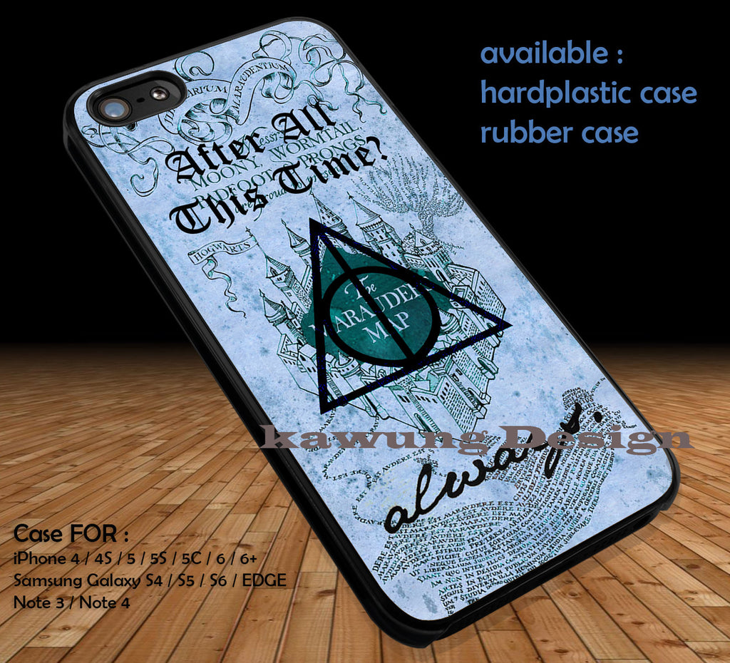Harry Potter After All This Time Always iPhone 8+ 7 6s Cases Samsung Galaxy S8 S7 edge NOTE 8 5 4