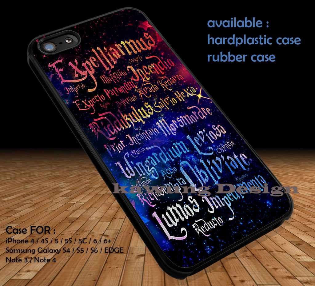 Harry Potter Magic Spelling Quotes Iphone X 8 7 6s Cases Samsung