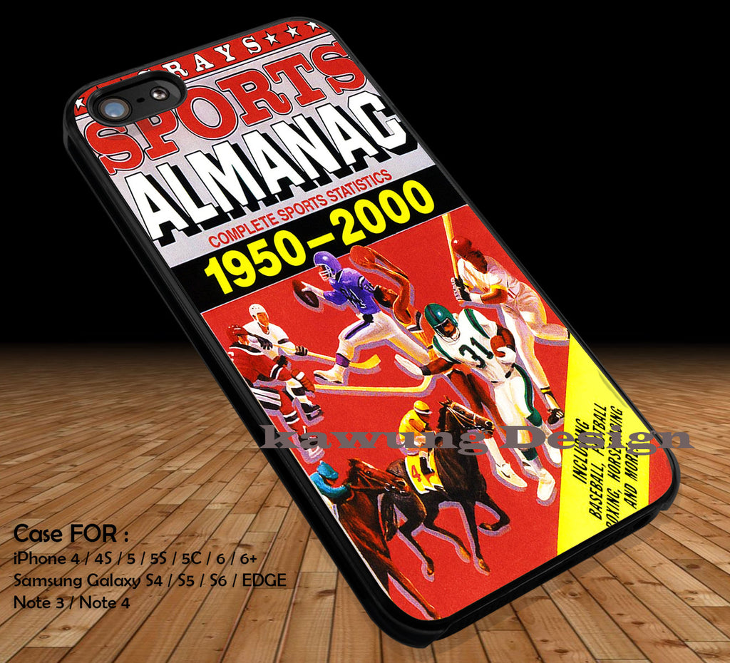 Back in Time Almanac DOP1334 iPhone 6s 6 6s+ 5c 5s Cases Samsung Galaxy s5 s6 Edge+ NOTE 5 4 3 #sport - Kawung Design  - 1