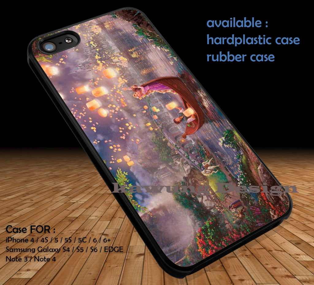 Tangled Painting DOP137 case/cover for iPhone 4/4s/5/5c/6/6+/6s/6s+ Samsung Galaxy S4/S5/S6/Edge/Edge+ NOTE 3/4/5 #cartoon #anime #tangled - Kawung Design  - 1