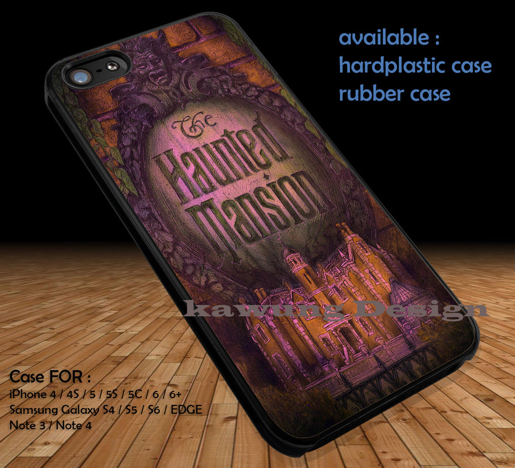 Haunted Mansion Disneyland iPhone 8+ 7 6s Cases Samsung Galaxy S8 S7 edge NOTE 8 5 4