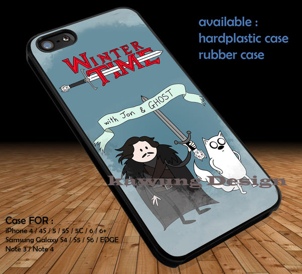 Advanture Time With Finn and Jake DOP143 case/cover for iPhone 4/4s/5/5c/6/6+/6s/6s+ Samsung Galaxy S4/S5/S6/Edge/Edge+ NOTE 3/4/5 #cartoon #anime - Kawung Design  - 1