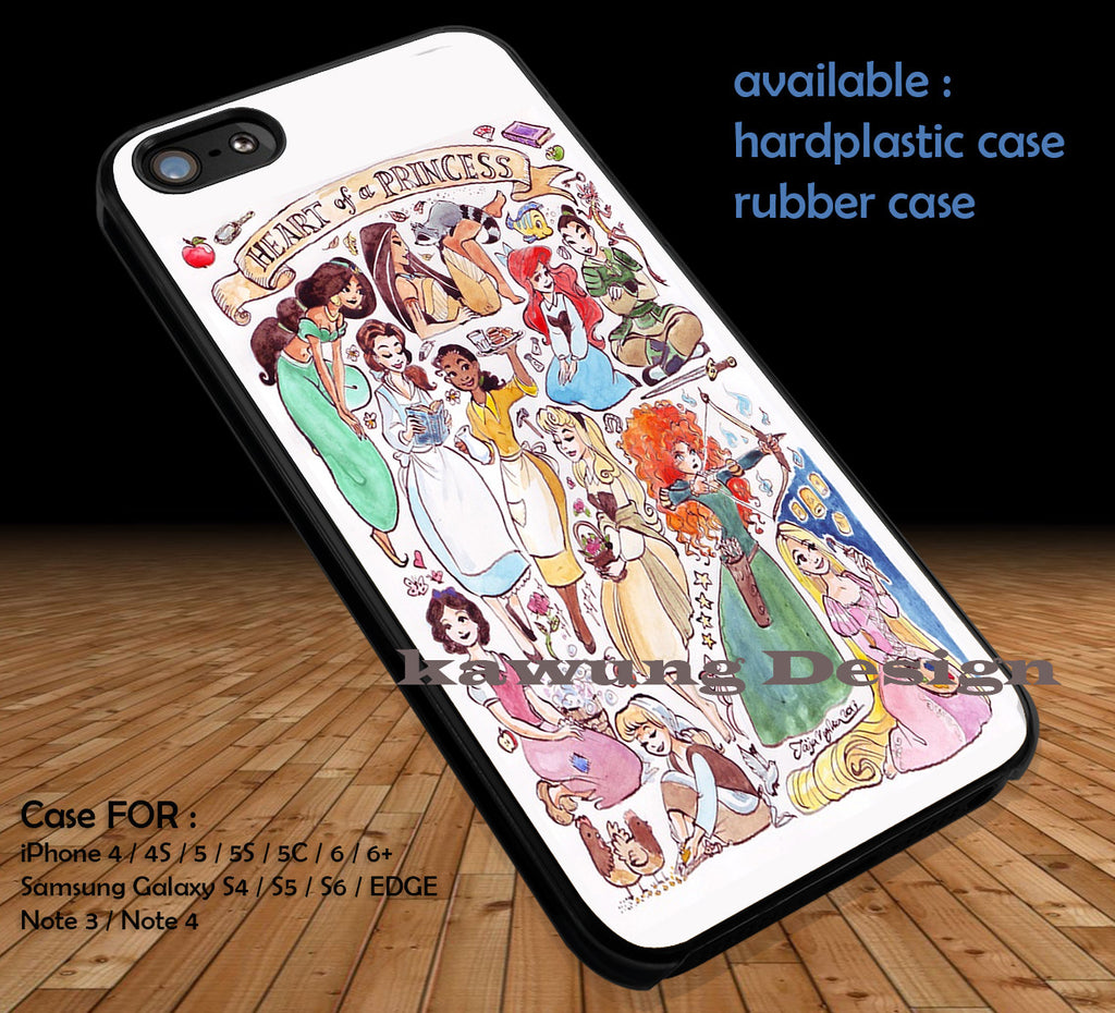 Disney Princess DOP150 case/cover for iPhone 4/4s/5/5c/6/6+/6s/6s+ Samsung Galaxy S4/S5/S6/Edge/Edge+ NOTE 3/4/5 #cartoon #disney #animated #disneycastle #movie - Kawung Design  - 1
