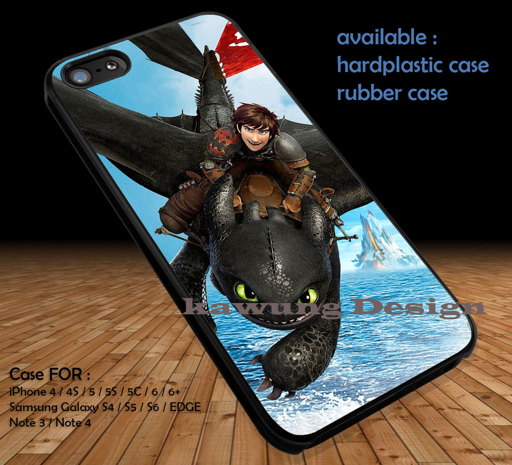 How To Train Your Dragon 2 DOP151  case/cover for iPhone 4/4s/5/5c/6/6+/6s/6s+ Samsung Galaxy S4/S5/S6/Edge/Edge+ NOTE 3/4/5 #movie #howtotrainyourdragon - Kawung Design  - 1