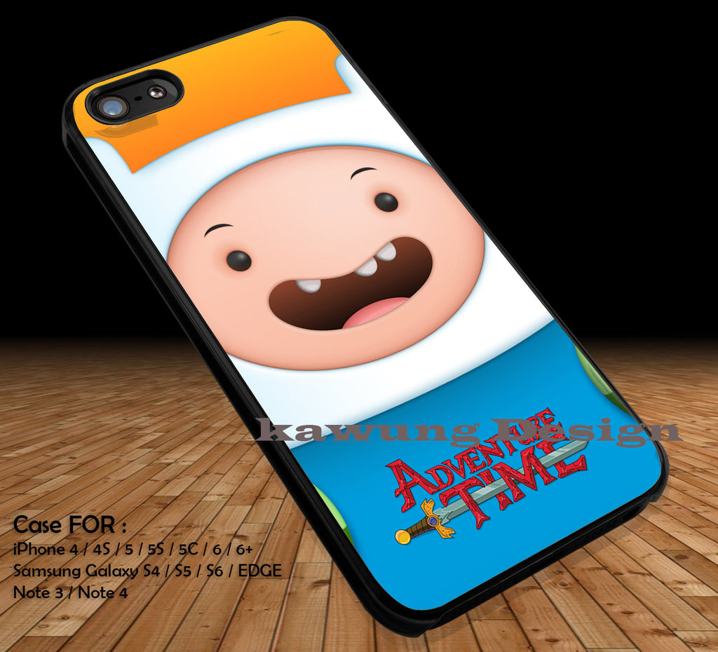 Advanture Time With Finn and Jake DOP15 case/cover for iPhone 4/4s/5/5c/6/6+/6s/6s+ Samsung Galaxy S4/S5/S6/Edge/Edge+ NOTE 3/4/5 #cartoon #anime #adventuretime - Kawung Design  - 1