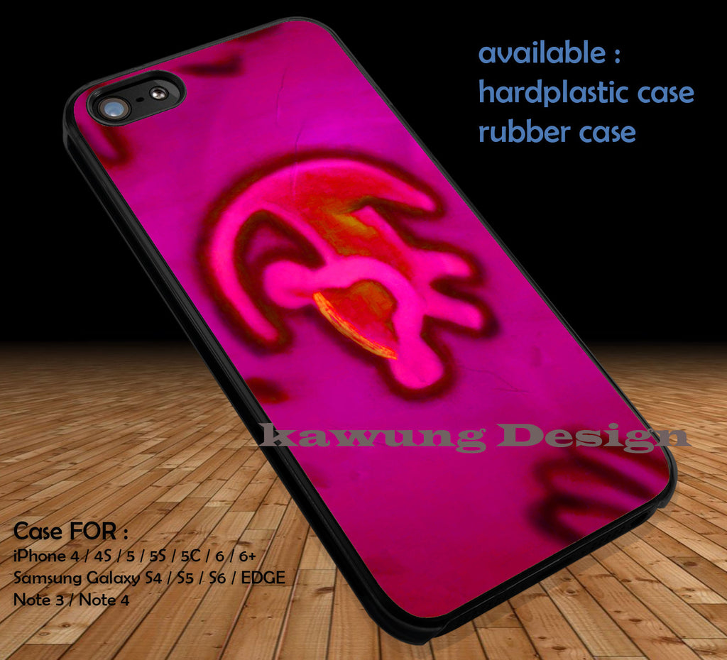 Pink Simba The Lion King case/cover for iPhone 4/4s/5/5c/6/6+/6s/6s+ Samsung Galaxy S4/S5/S6/Edge/Edge+ NOTE 3/4/5 #disney #lionking - Kawung Design  - 1