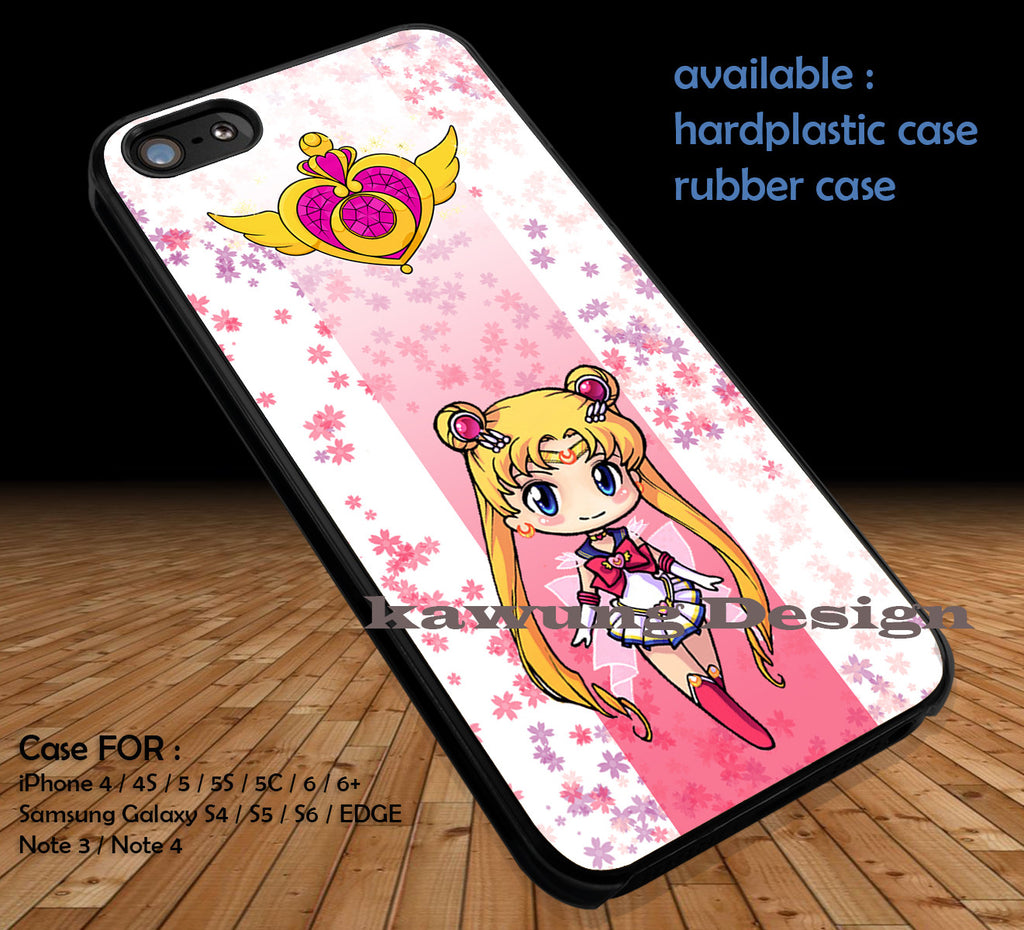 Sailor Moon DOP174 case/cover for iPhone 4/4s/5/5c/6/6+/6s/6s+ Samsung Galaxy S4/S5/S6/Edge/Edge+ NOTE 3/4/5 #cartoon #animated #sailormoon #movie - Kawung Design  - 1