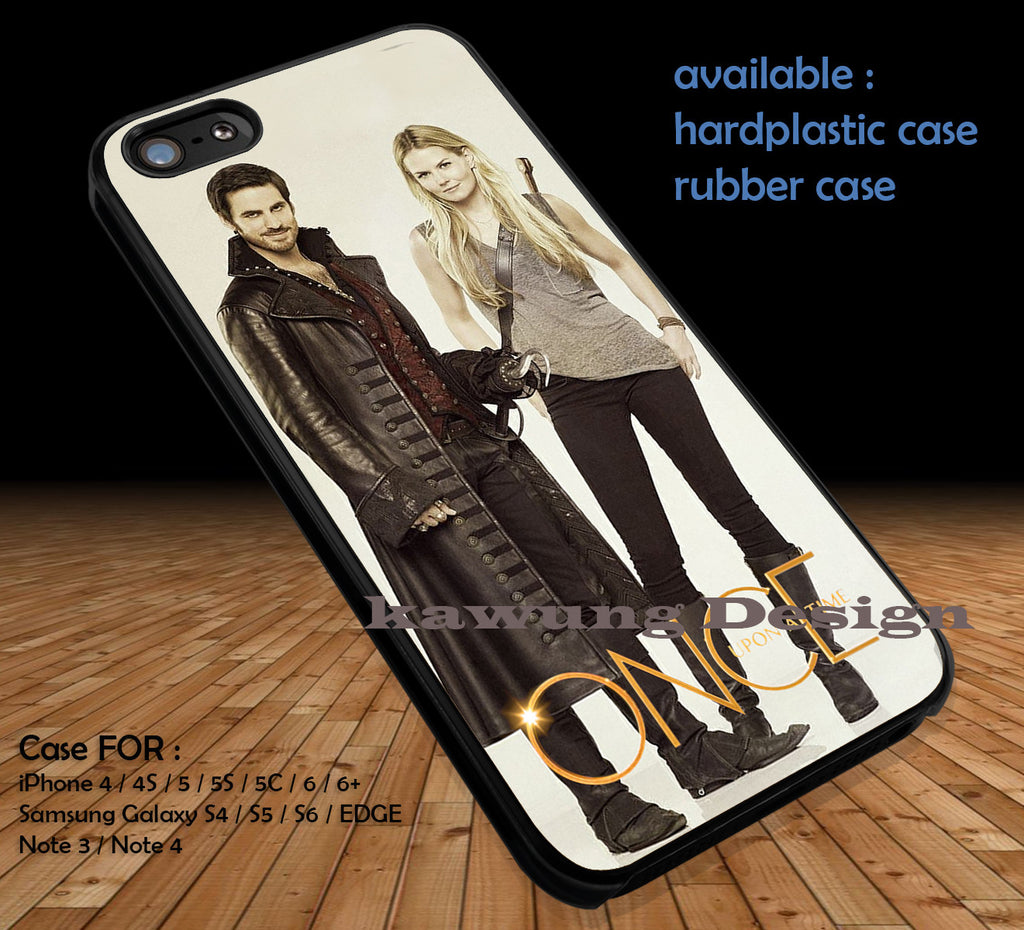 Captain Hook and Emma Swan iPhone 8+ 7 6s Cases Samsung Galaxy S8 S7 edge NOTE 8 5 4