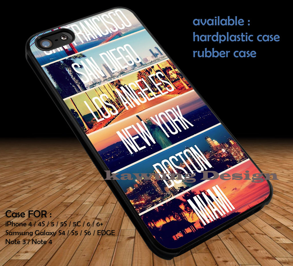 Cities La Miami Boston SuperWhoLock DOP190 case/cover for iPhone 4/4s/5/5c/6/6+/6s/6s+ Samsung Galaxy S4/S5/S6/Edge/Edge+ NOTE 3/4/5 #movie #cartoon #superwholock #supernatural #doctorwho #sherlockholmes - Kawung Design  - 1