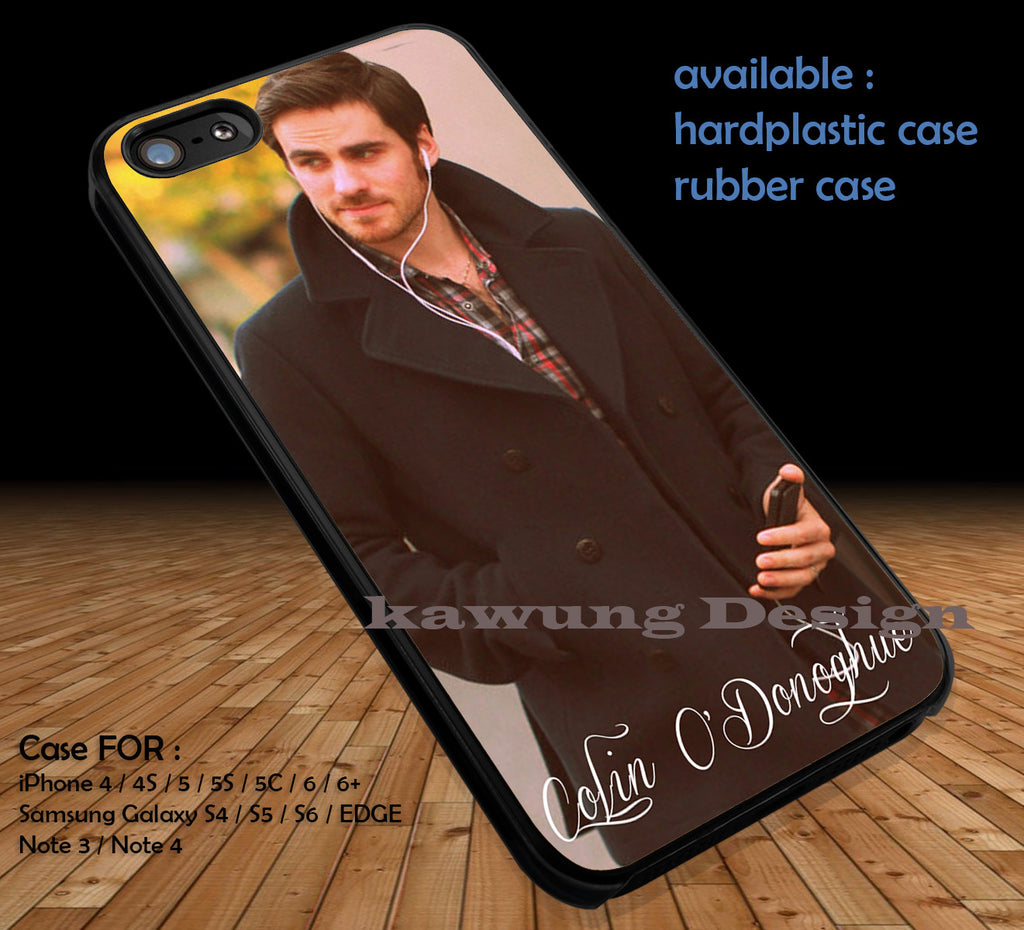 Colin O'Donoghue Captain Hook Once Upon A Time DOP191 case/cover for iPhone 4/4s/5/5c/6/6+/6s/6s+ Samsung Galaxy S4/S5/S6/Edge/Edge+ NOTE 3/4/5 #cartoon #disney #animated #oneuponatime #movie - Kawung Design  - 1
