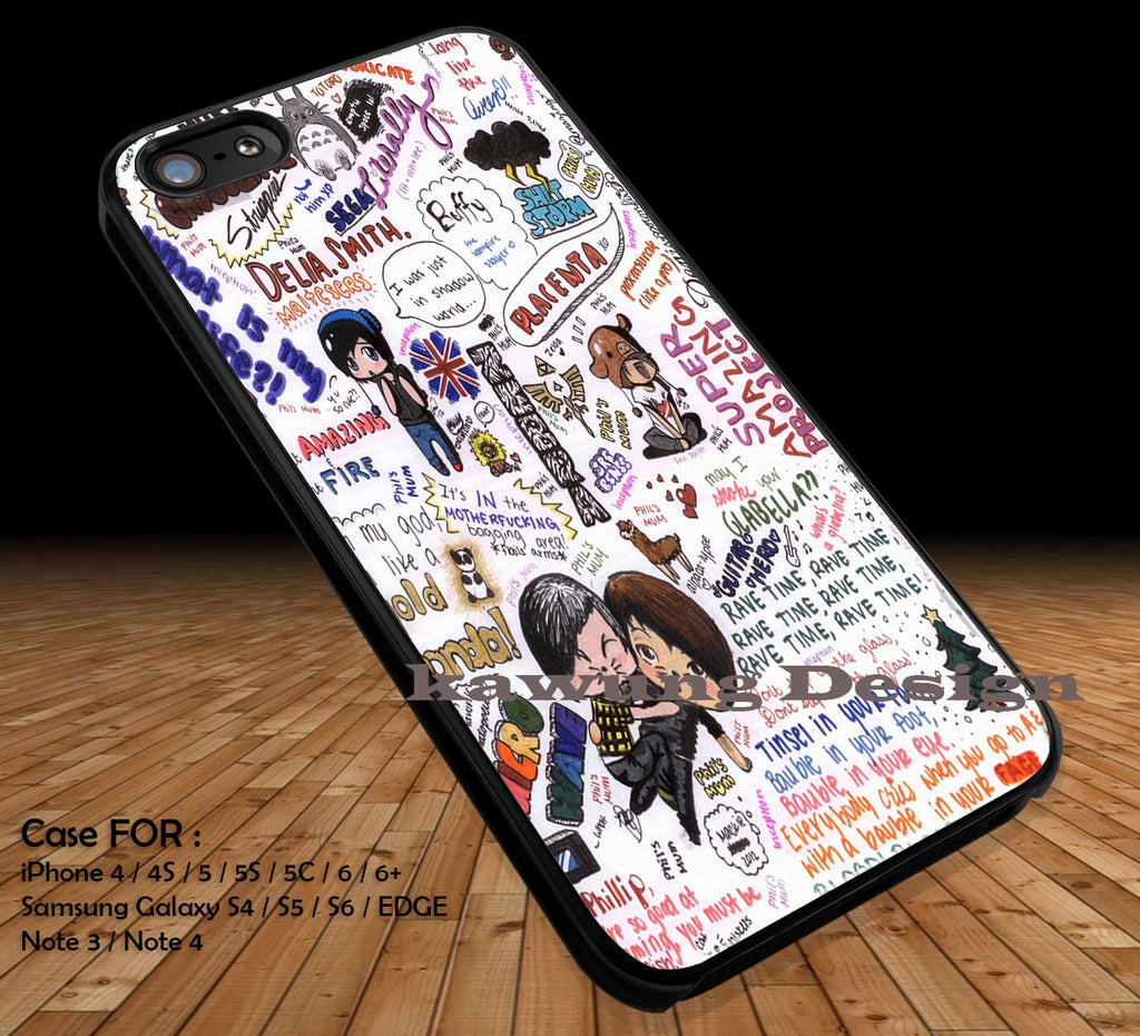Amazingphil and Danisnotonfire The Legend Of Zelda DOP19 case/cover for iPhone 4/4s/5/5c/6/6+/6s/6s+ Samsung Galaxy S4/S5/S6/Edge/Edge+ NOTE 3/4/5 #cartoon #anime #thelegendofzelda - Kawung Design  - 1