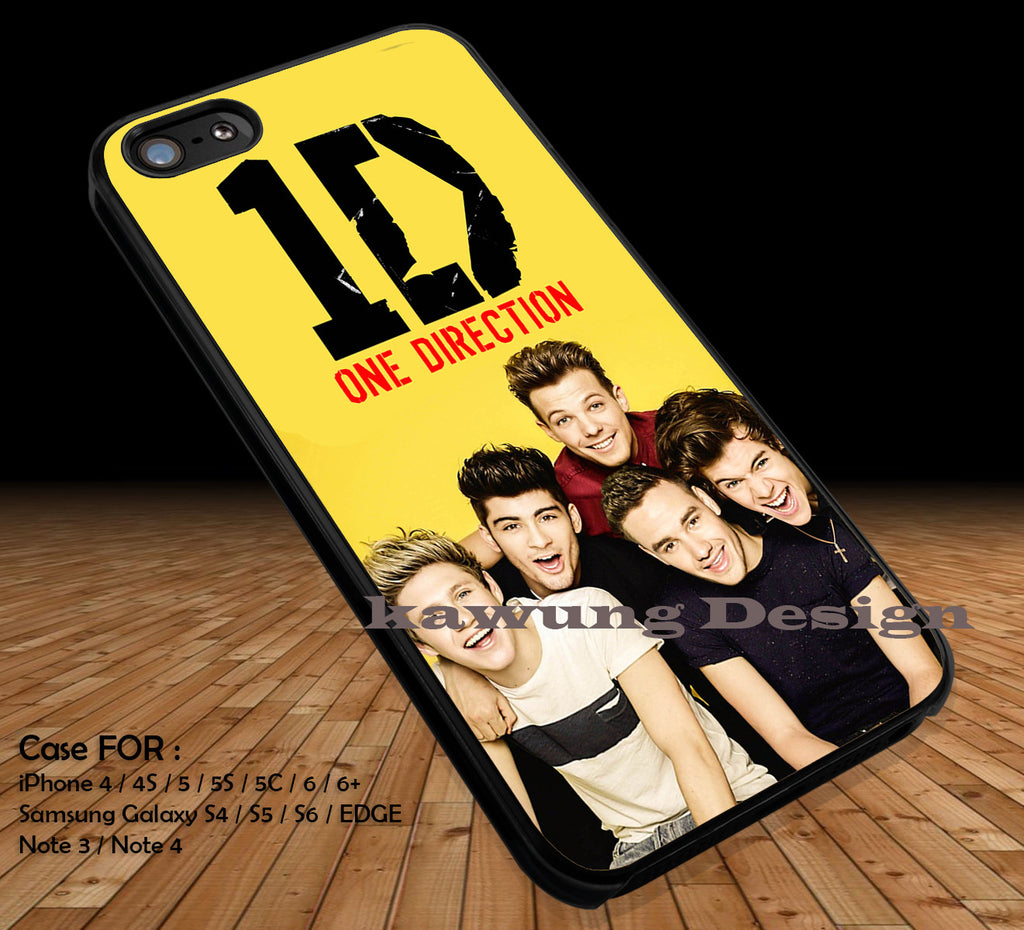 Annual Book 2014 One Direction iPhone 6s 6 6s+ 5c 5s Cases Samsung Galaxy s5 s6 Edge+ NOTE 5 4 3 #music #1d DOP2123 - Kawung Design  - 1