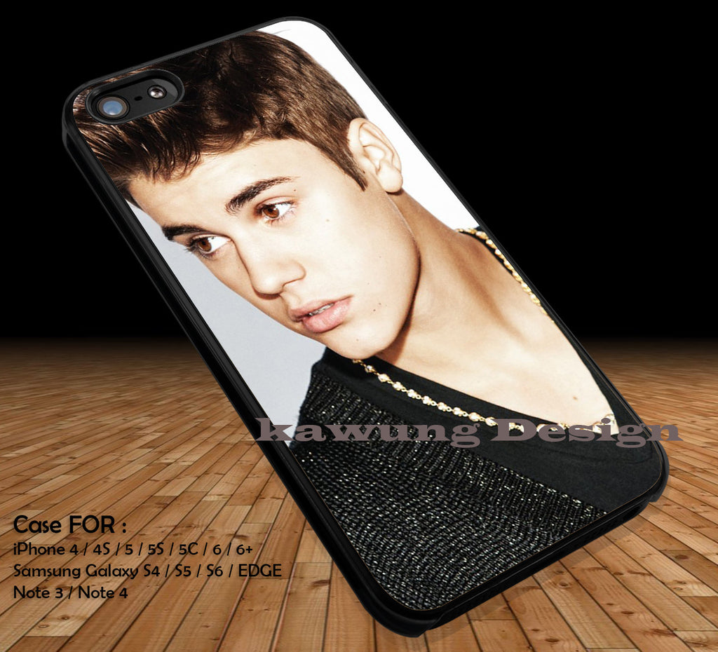 Cool Justin Bieber iPhone 6s 6 6s+ 5c 5s Cases Samsung Galaxy s5 s6 Edge+ NOTE 5 4 3 #music #jb DOP2132 - Kawung Design  - 1