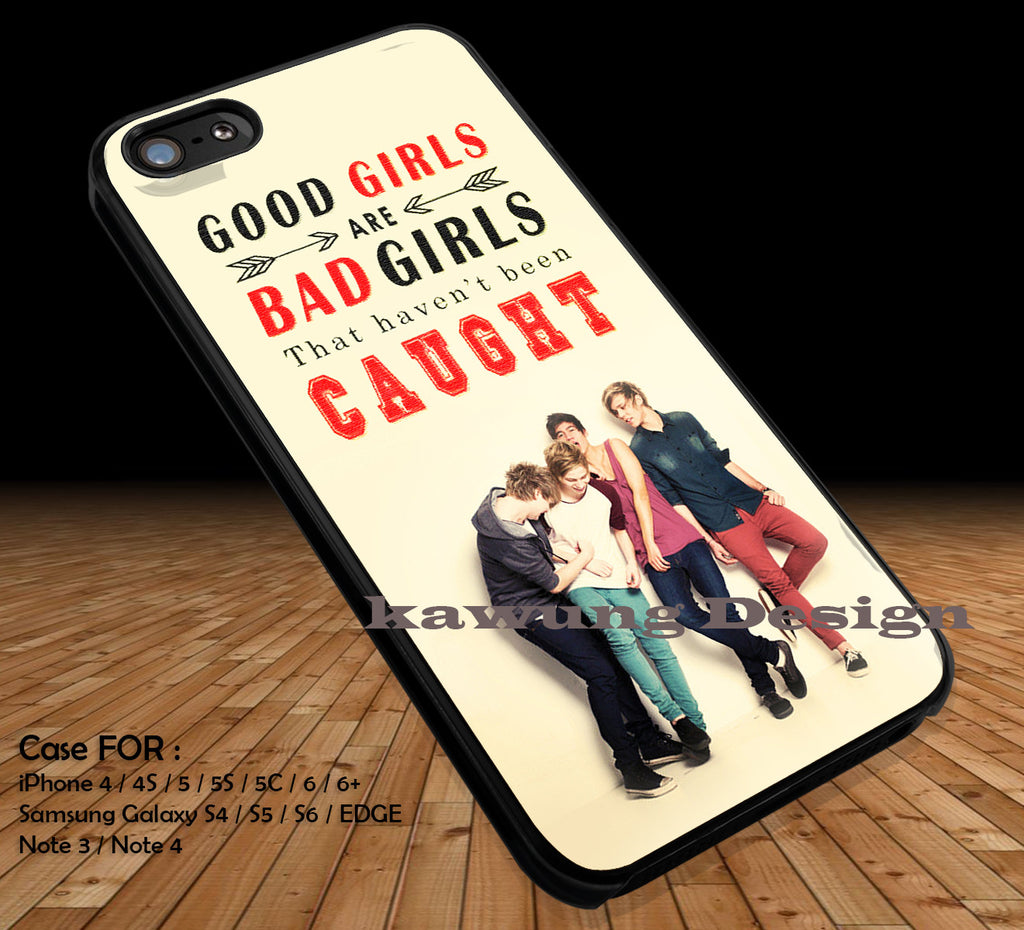 Good Girls Bad Girls 5 Seconds of Summer iPhone 7 7+ 6s 6 Cases Samsung Galaxy S8 S7 edge S6 S5 NOTE 5 4