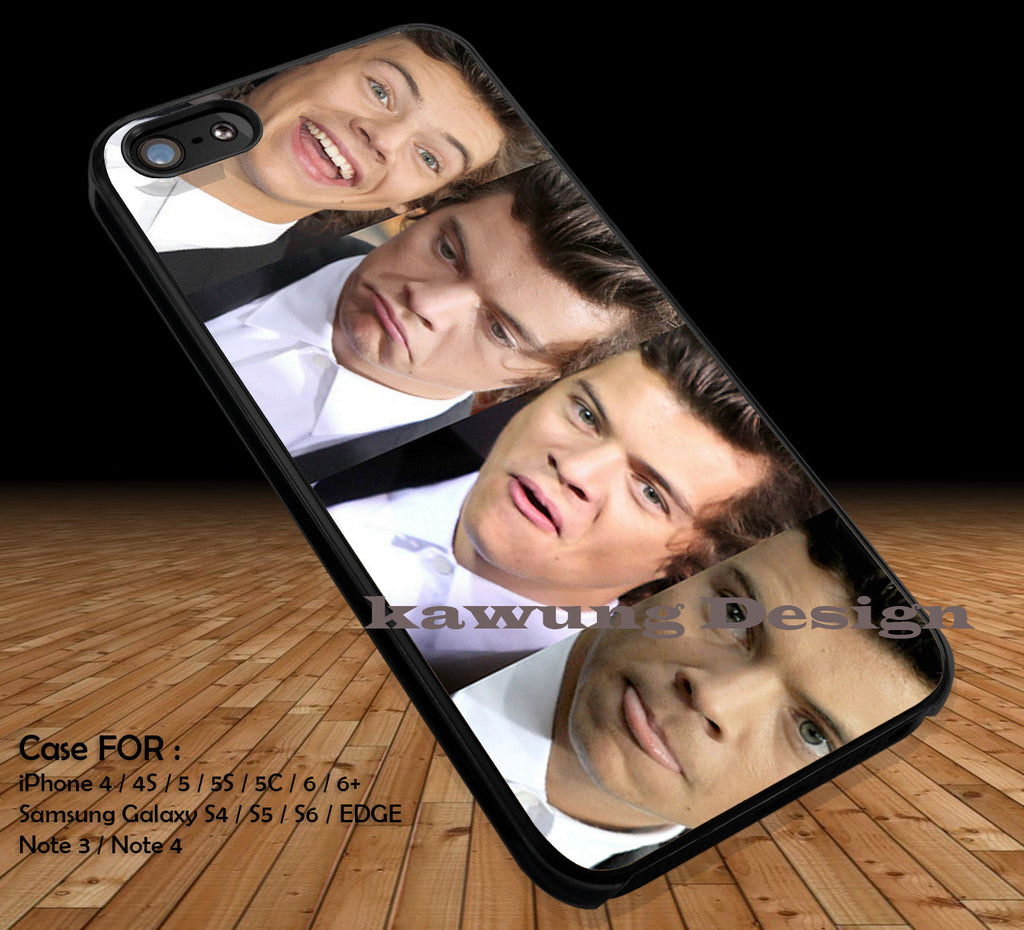 One Direction 1D DOP2144 case/cover for iPhone 4/4s/5/5c/6/6+/6s/6s+ Samsung Galaxy S4/S5/S6/Edge/Edge+ NOTE 3/4/5 #music #1d - Kawung Design  - 1