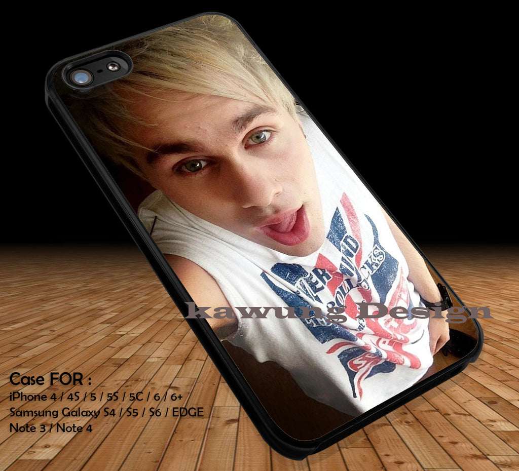 Michael Clifford 5 Seconds of Summer DOP2148 case/cover for iPhone 4/4s/5/5c/6/6+/6s/6s+ Samsung Galaxy S4/S5/S6/Edge/Edge+ NOTE 3/4/5 #music #5sos - Kawung Design  - 1