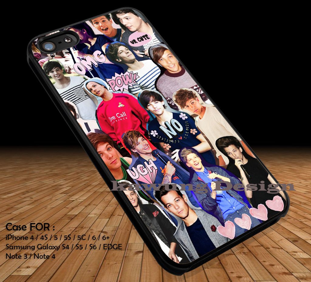 One Direction 1D DOP2159 case/cover for iPhone 4/4s/5/5c/6/6+/6s/6s+ Samsung Galaxy S4/S5/S6/Edge/Edge+ NOTE 3/4/5 #music #1d - Kawung Design  - 1